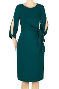 Sukienka damska Dagon butelkowa zieleń