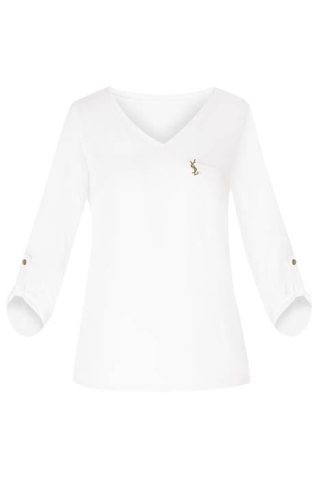 Bluzka damska 4224 biała