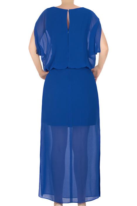 Długa suknia J.S.A. Alicja I chabrowa tiulowa