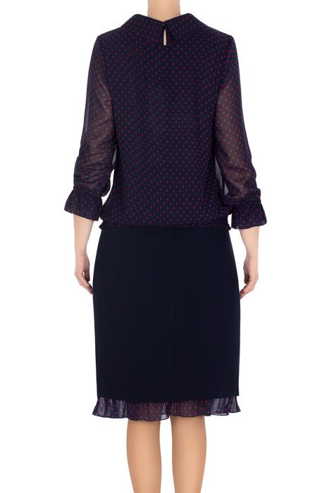 Elegancki komplet damski bluzka i spódnica 3202