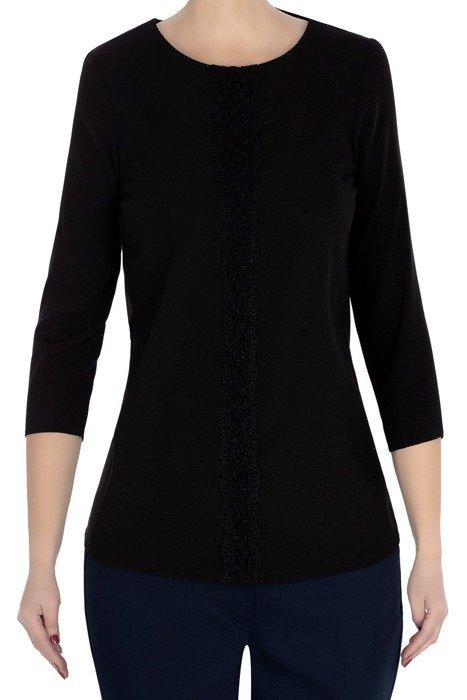 Klasyczna damska bluzka czarna