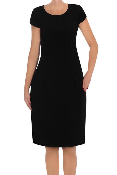 Klasyczna sukienka Karen Collection czarna