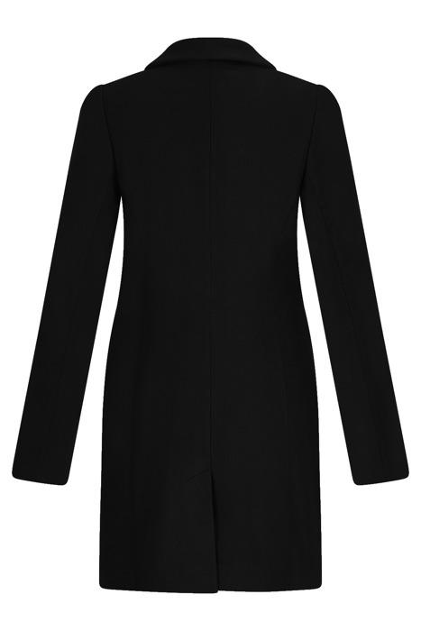 Klasyczny zimowy płaszcz damski Huna Jasmin czarny