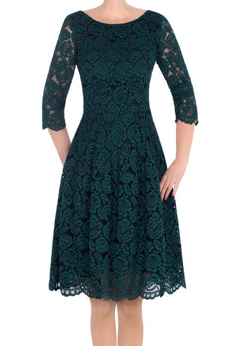 Koronkowa sukienka J.S.A. Karla zielona