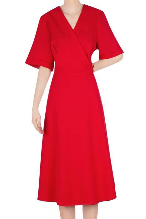 Modna sukienka damska czerwona