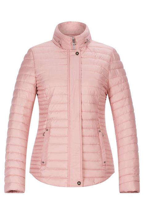 Pikowana kurtka damska Fly różowa