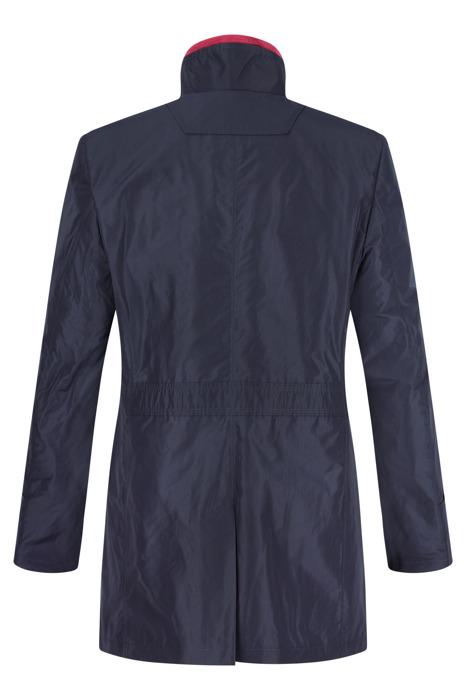 Płaszcz męski wiosenno-jesienny Lavard Gareth Zeni 12901 granatowy