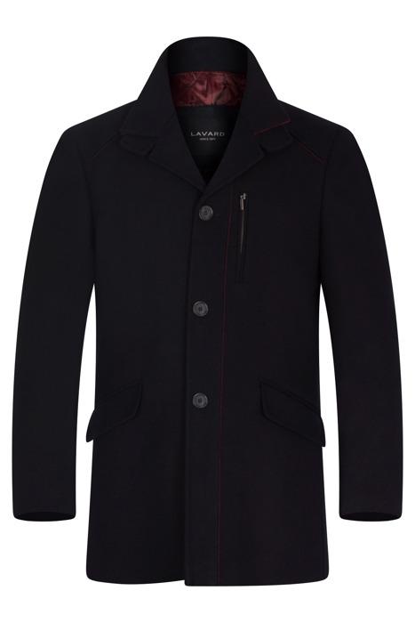 Płaszcz męski zimowy Lavard Ricard Brenero 26325 czarny