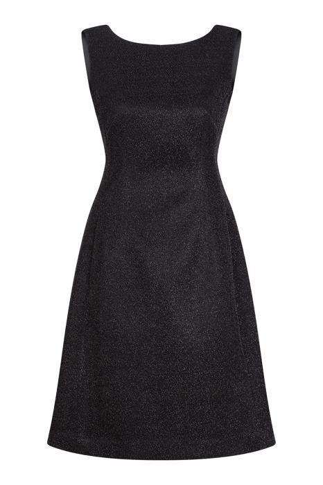 Sukienka Dagon 2272 elegancka czarna