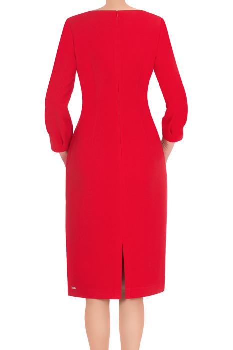 Sukienka Dagon 2666 czerwona