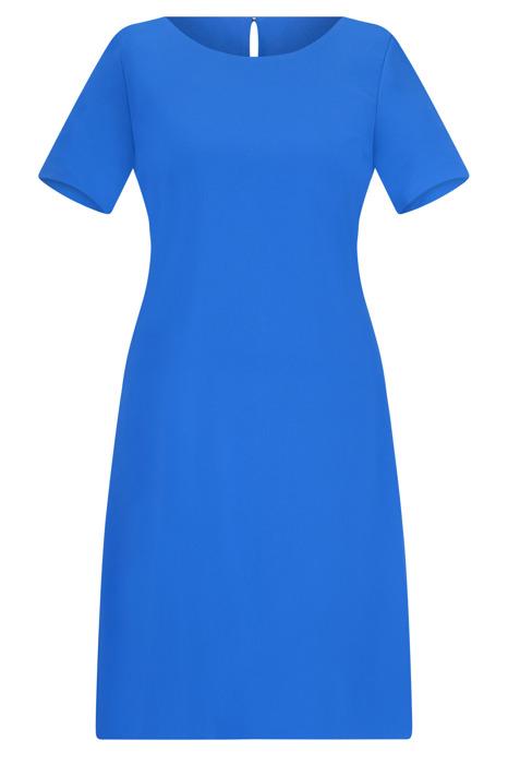 Sukienka Gabi chabrowa rozszerzany doł