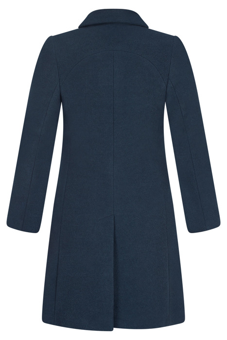 Zimowy płaszcz, kurtka damska morska 3090