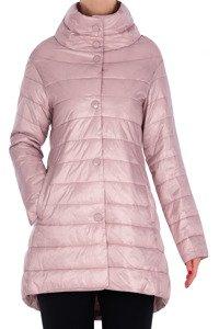 Wiosenna kurtka pikowana różowa 3159